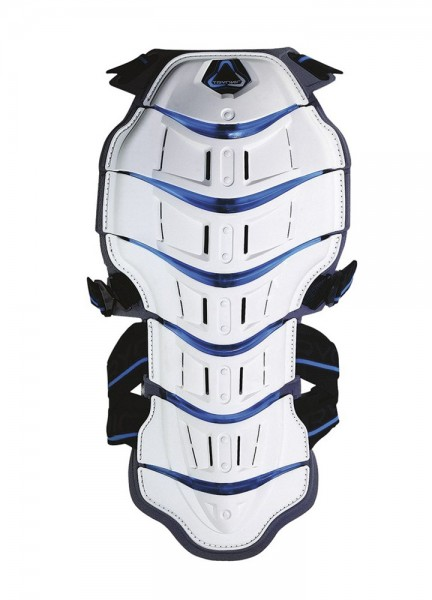 Revit Tryonic Rückenprotector Feel 3.7 - Weiß-Blau