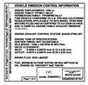 Dekor, Emission control