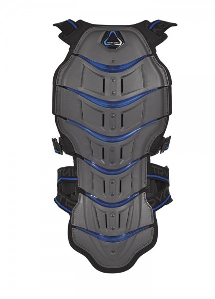Revit Tryonic Rückenprotector Feel 3.7 - Grau-Blau