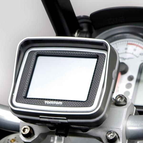 Moto Guzzi Stelvio Halter Navigationssystem Tom Tom Rider II