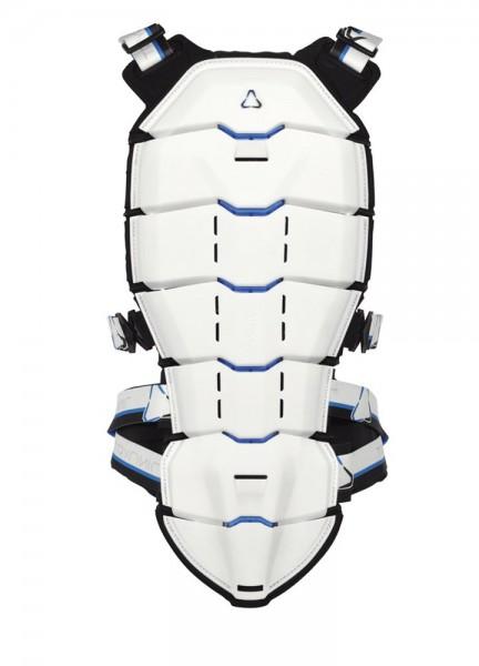 Revit Tryonic Rückenprotektor See+ - Weiß-Blau