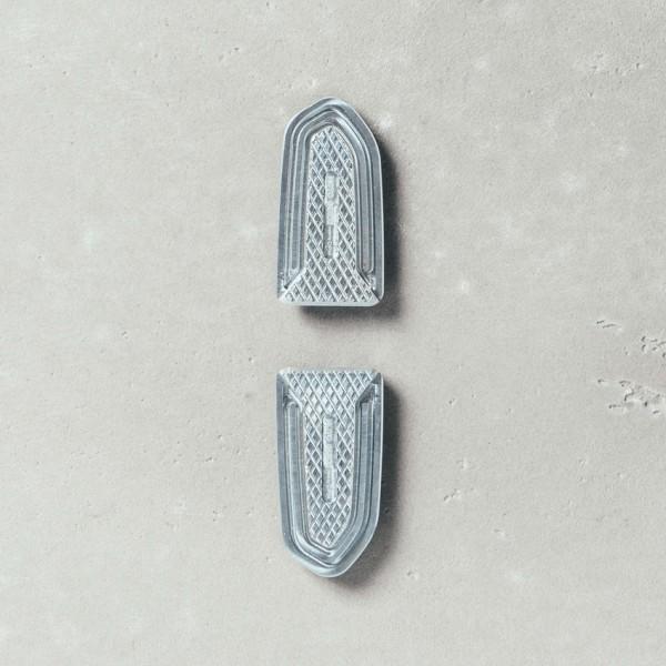 Fußrastenabdeckung, Aluminium für Moto Guzzi V7 III/ V9 Roamer / Bobber Original