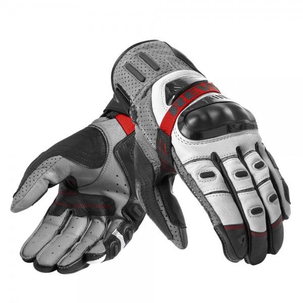 Revit Cayenne Pro Handschuhe - Grau-Rot